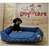 cama para cachorro lavável