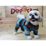 fábrica de roupas de moletom para cães Marília