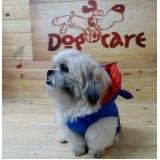 onde encontrar fornecedor de roupa para cachorro com touca Riviera de São Lourenço