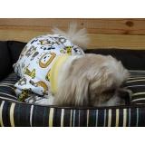 onde encontro fábrica de pijamas para cachorro Santa Cecília