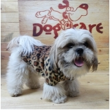 roupa de inverno para cachorro valores Pedreira