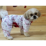roupa de moletom para cães Vila Medeiros