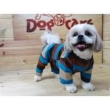 roupa para cachorro de frio valores Campo Grande
